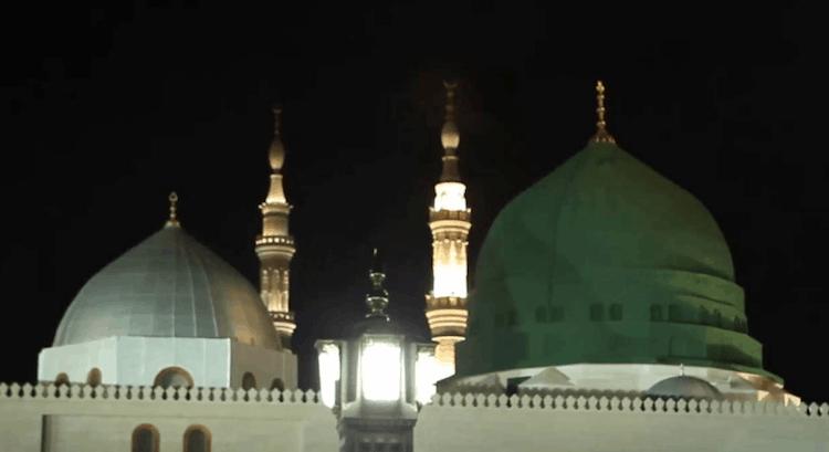 Kubah masjid Nabawi Madinah