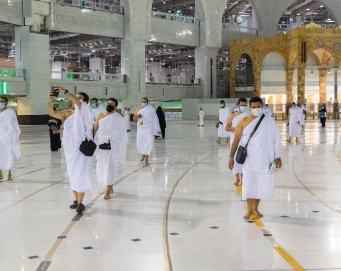 tawaf di masjidil haram kaabah
