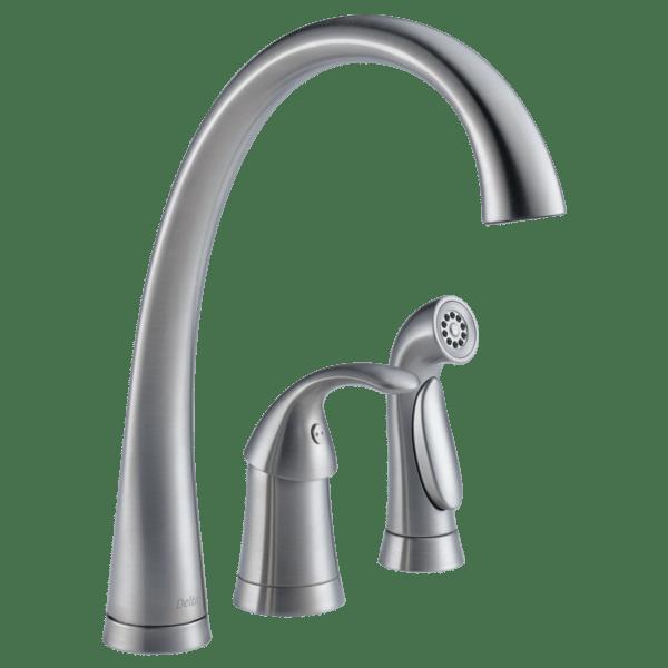 delta pilar single handle kitchen