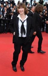 Jane Birkin en smoking Saint Laurent