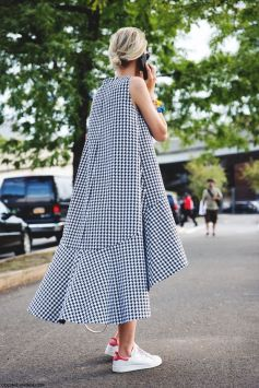 new york street style oversize dress