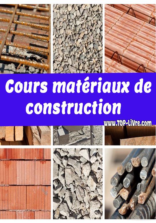 Cours matériaux de construction