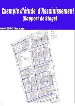 Exemple de dimensionnement assainissement pour lotissement – Rapport de stage