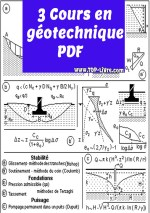 3 cours en géotechnique pdf