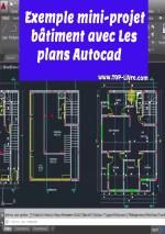 Exemple mini projet bâtiment avec plans autocad