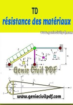 Travaux dirigés de résistance des matériaux