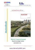 Manuel d'apprentissage Autocad Civil 3D
