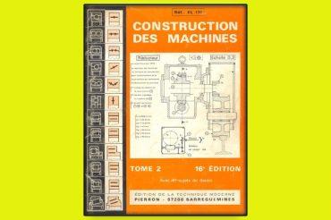 Construction des Machines Tome 2 en PDF