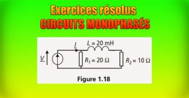 Exercices d'application résolus CIRCUITS MONOPHASÉS