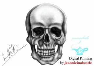 Skull_Digital_Painting