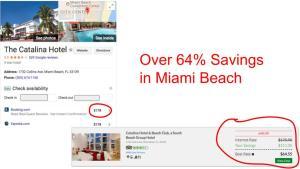 Huge savings on GenieTraveler.com for Miami Beach, Florida