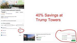 Huge savings on GenieTraveler.com for Trump Towers, New York City