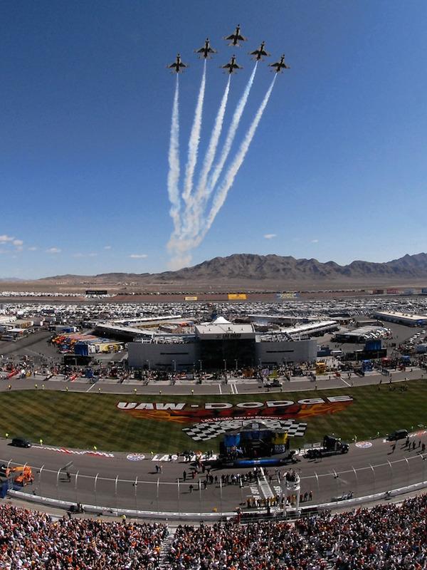 NASCAR racing jets