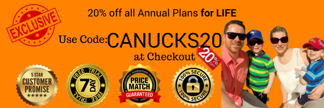 CANUCK20 coupon/discount code