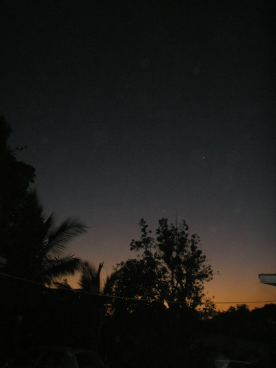 Sky at Twilight - Rule of Thirds