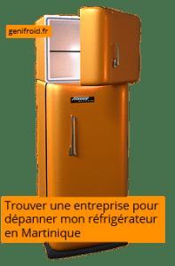 trouver une entreprise pour dépanner mon réfrigérateur en Martinique