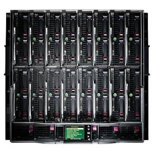 Integrity BLc7000 2x 8-Socket Expansion Server Kit