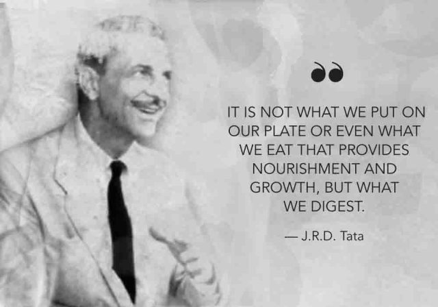 It is not what we put on our plate or even what we eat that provides nourishment and growth, but what we digest.