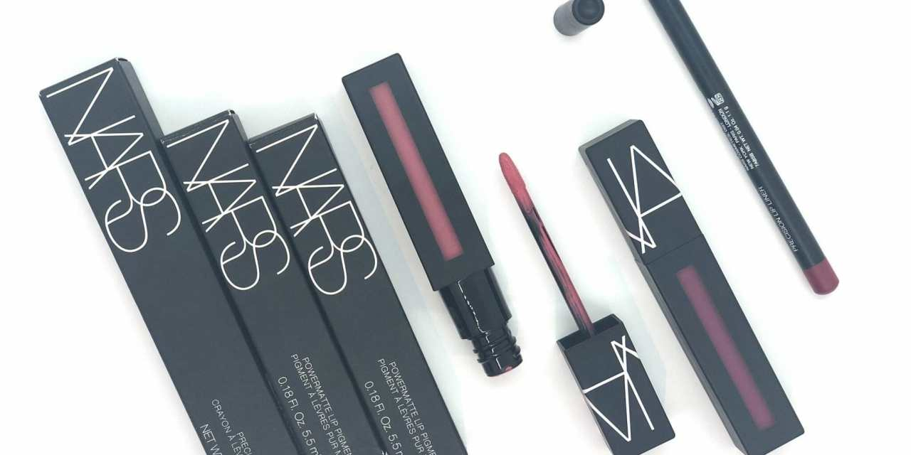 How-To: Two Tone Lips With NARS PowerMatte Lip Pigment