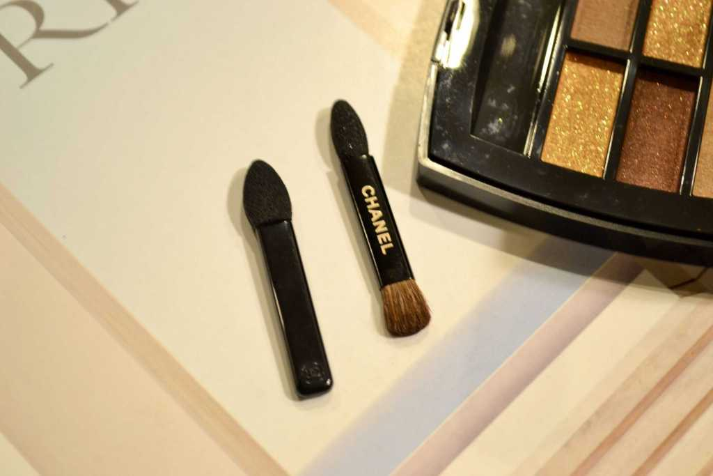 chanel eyeshadow palette brushes