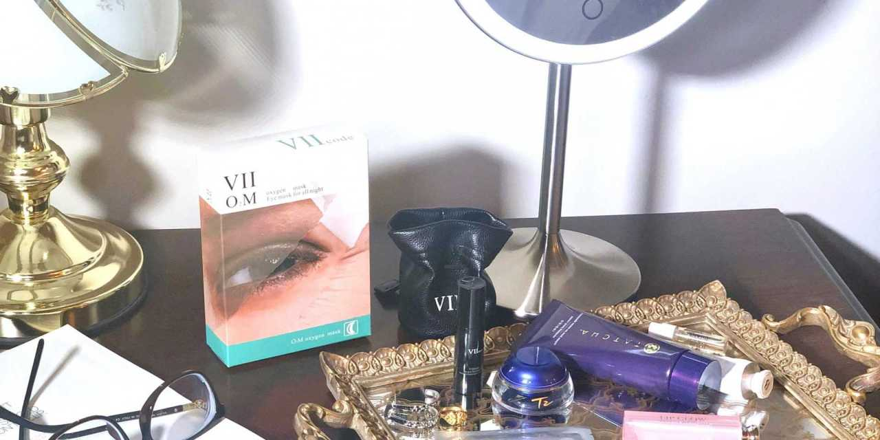 VIIcode O2M Oxygen Eye Mask + O2.0 Oxygen Hydrating Eye Spray – Review