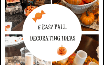Fall Decorating Ideas – How I Decor My Home For Fall In 6 Easy Steps