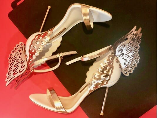 Sophia Webster 'Evangeline' Winged Sandals – [Do It In High Heels]