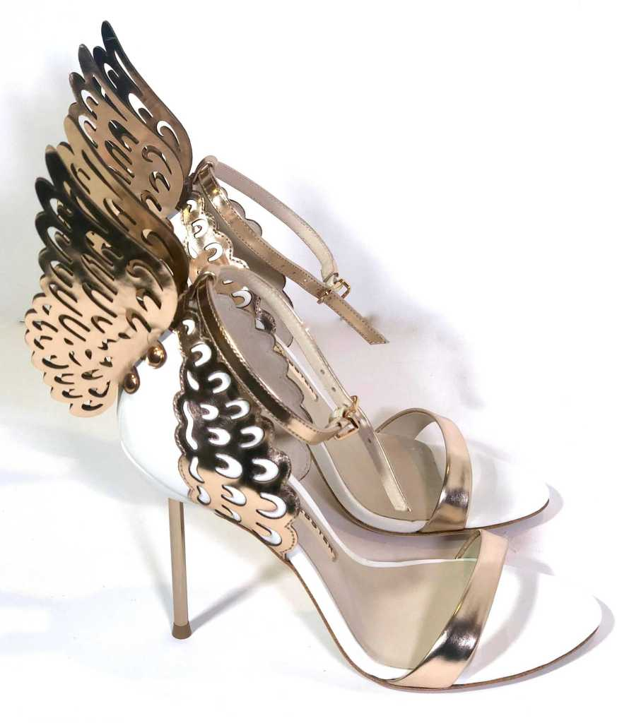 Side view of Sophia Webster Evangeline Sandals