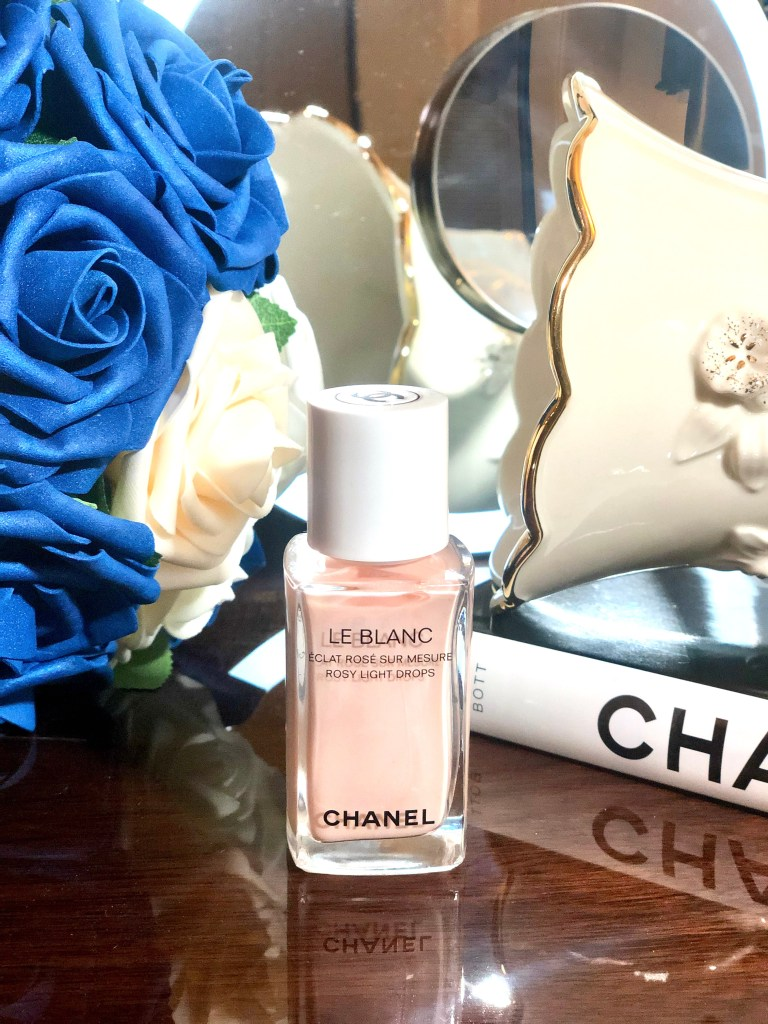 Chanel Le blanc rosy light drops