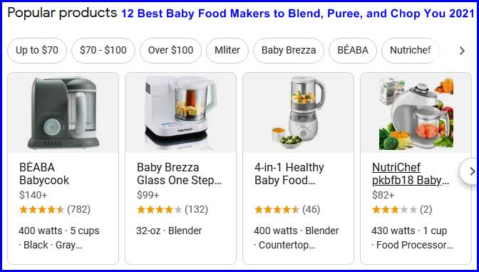 Baby Food Makers