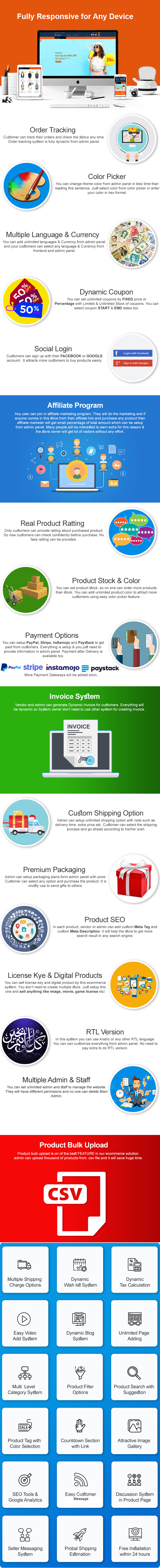 eCommerce - Responsive Ecommerce Business Management System - 2
