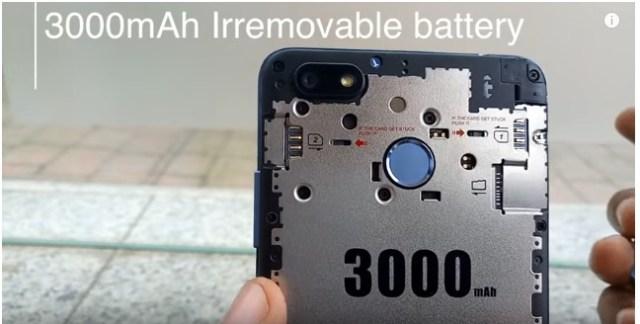Tecno Spark k7 battery