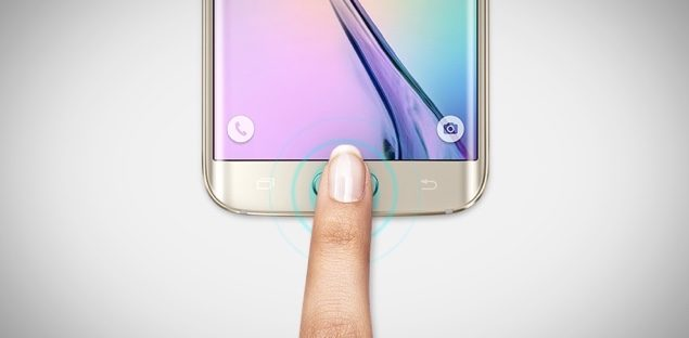 Galaxy S6 Edge plus fingerprint