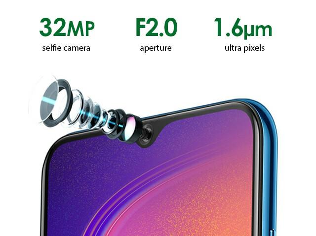Infinix S4 Selfie camera