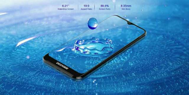 Doogee Y8 display