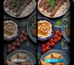 Tecno camon 15 Pro Food