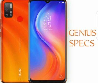 Tecno Spark 5 Air orange colour