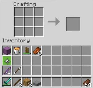 minecraft torch menu