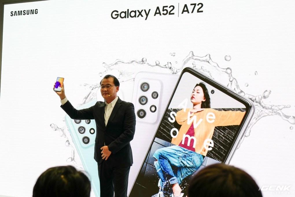 Bộ đôi Samsung Galaxy A52 và A72 chính thức ra mắt tại Việt Nam: Thiết kế trẻ trung năng động, camera nhiều tính năng cho GenZ sáng tạo, pin quẩy 2 ngày mới cần sạc - Ảnh 4.