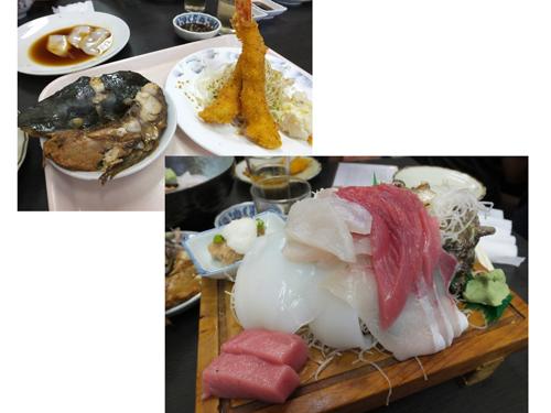 004刺身定食