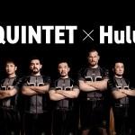 QUINTET.1 4月11日両国国技館開催 Huluで見逃し見放題配信決定
