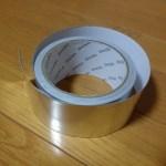 アルミ療法:これは便利!身体に直接貼る『アルミテープ』効果あります。