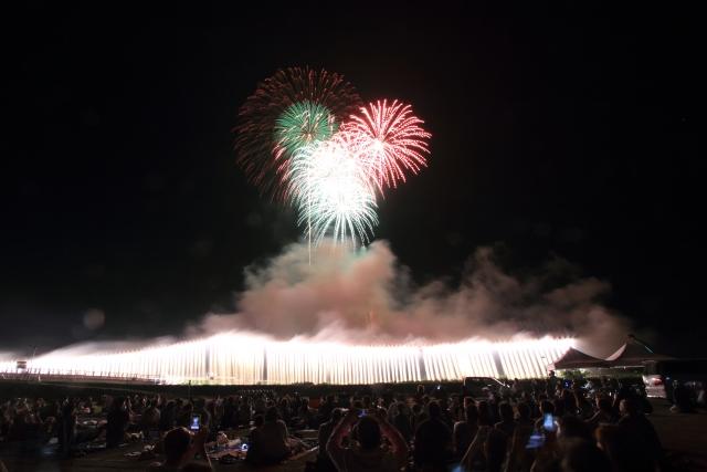 ナイアガラ花火