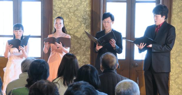 コントラポント×カペラのモンテヴェルディ | 旧岩崎邸庭園コンサート終演