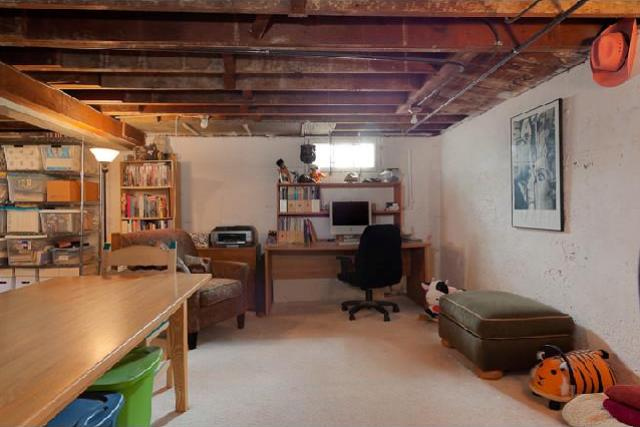 15 Awesome Unfinished Basement Ideas Genmice