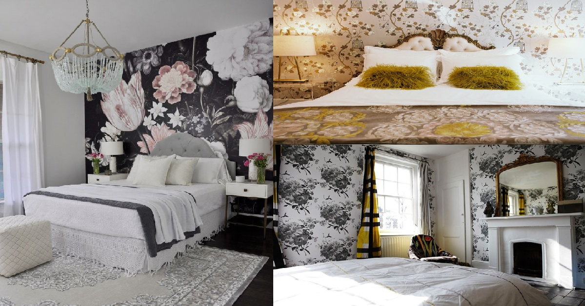 20 Awesome Bedroom Wallpaper Ideas For Your House