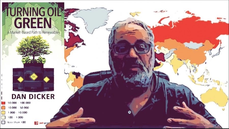 Dan Dicker | New Book Turning Oil Green