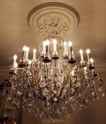 French style chandeliers UK