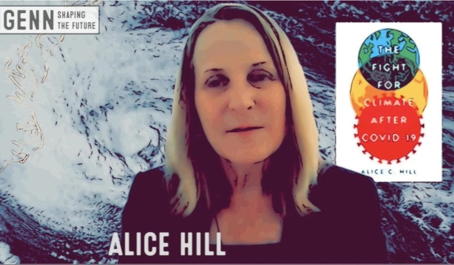 Alice Hill |Adapatation matters - The Fight For Climate After COVID 19 interview