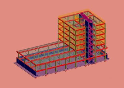 Analisi Lineare Dinamica Modale – Caserma GDF